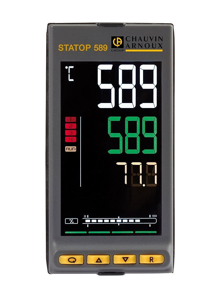 STATOP 589 PID CONTROLLER 1/8 DIN (48X96)